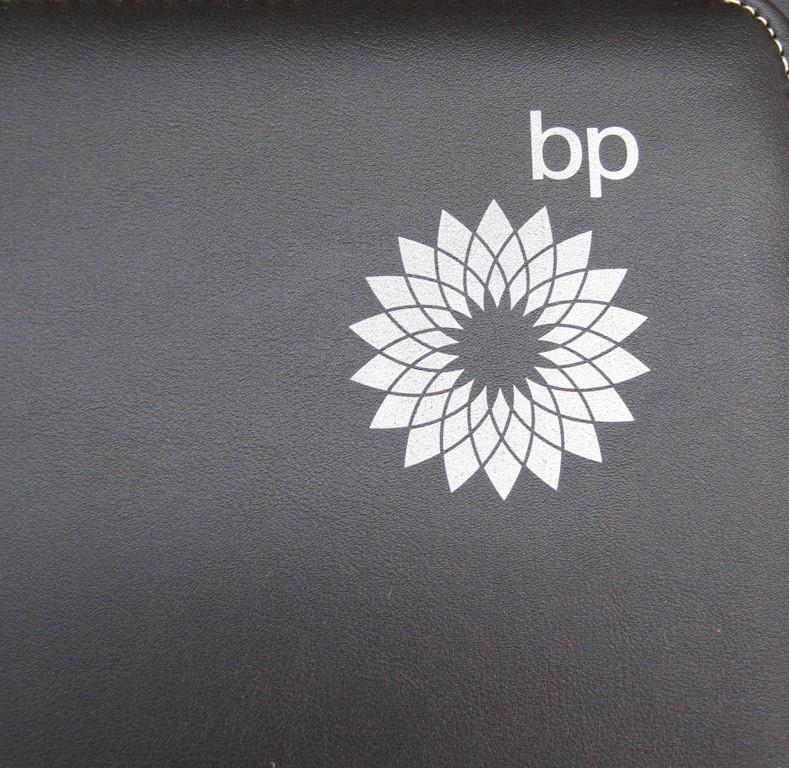 Pad printing on PU folder
