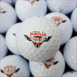 printed golf ball