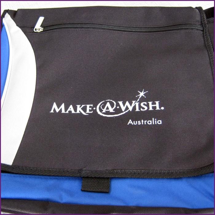 Plastisol Transfer onto satchel